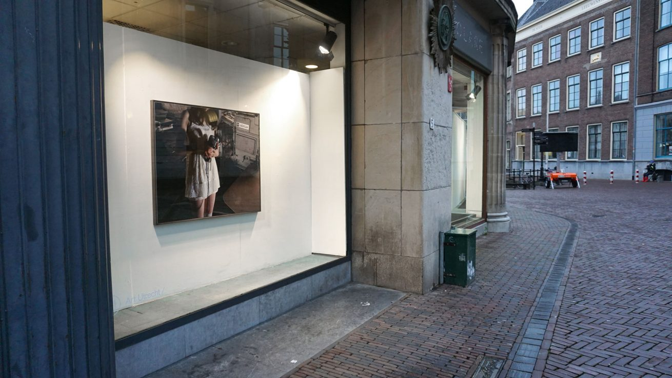No Questions Asked-Margret Wibmer-Movement Exposed Gallery Space-Art Utrecht