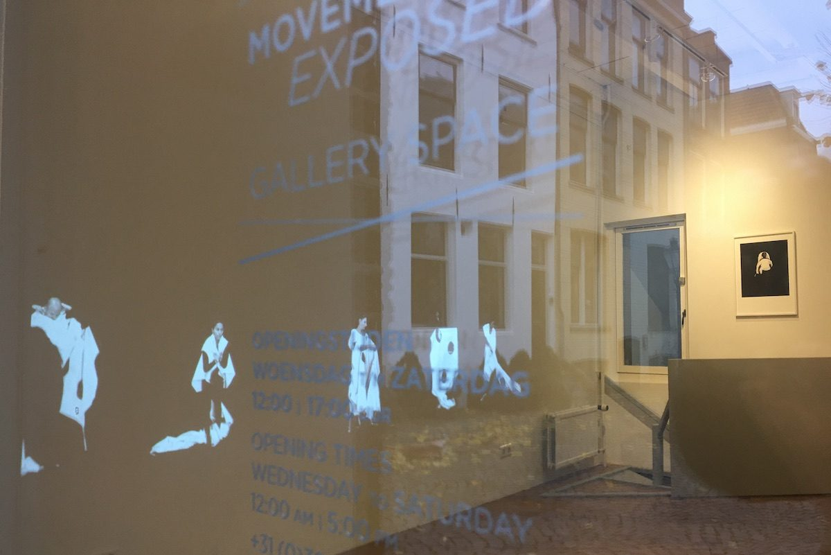 Rephrase -Margret Wibmer-Movement Exposed Gallery Space-opening